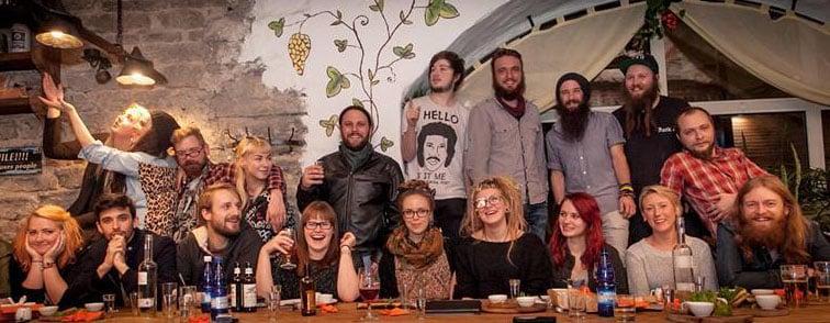 Ølsmaking, øl tur, firmatur, gruppetur
