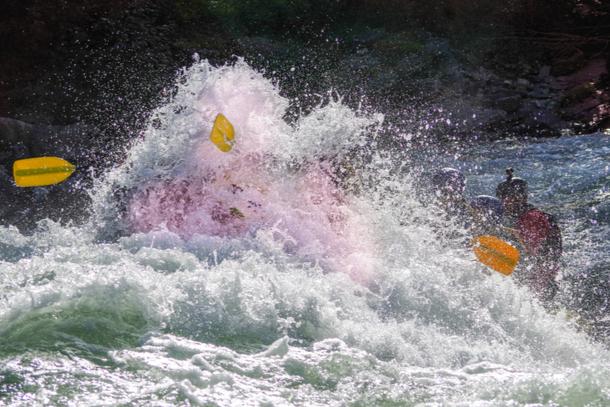 Rafting, Sjoa, Rafting i Sjoa 610x407