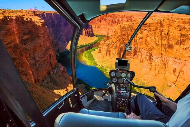 Hellicopter Grand Canyon 610x407
