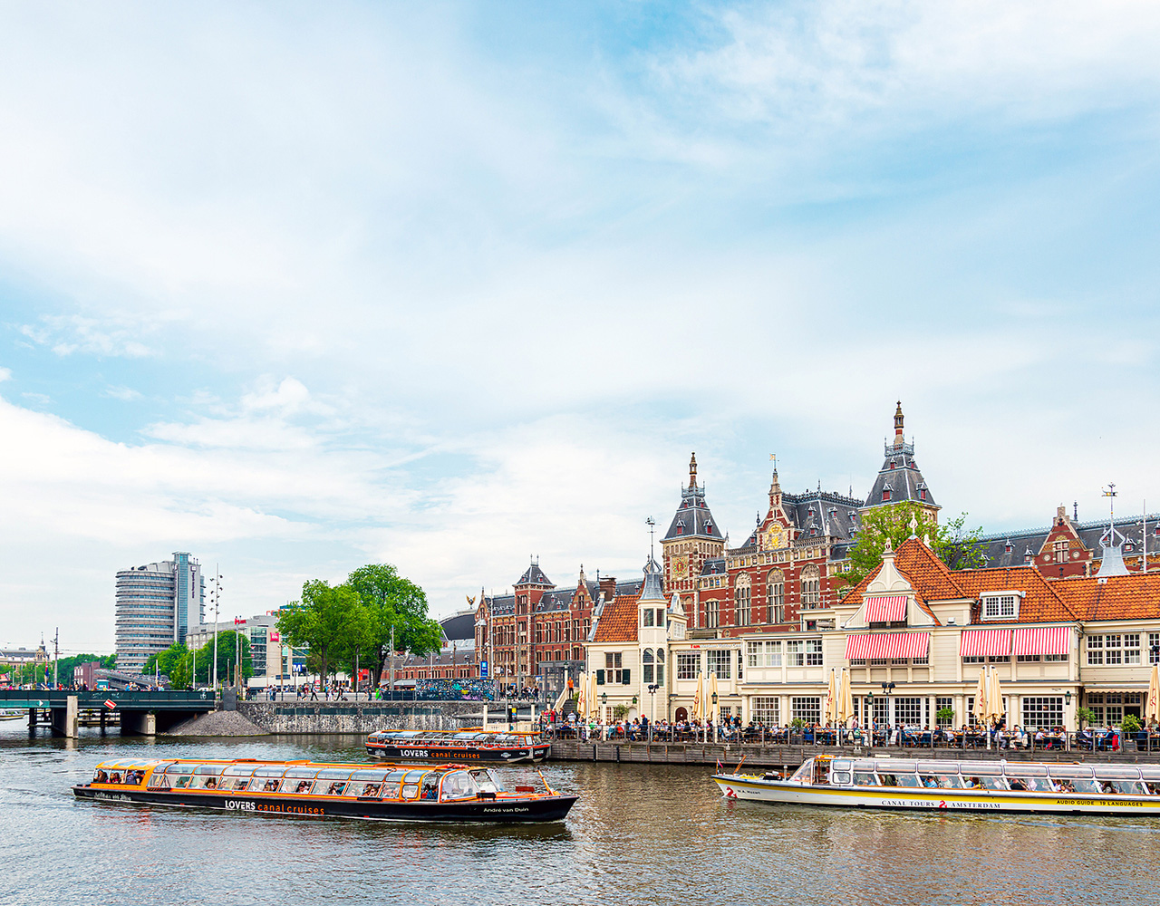 Amsterdam, elvecruise, Nederland
