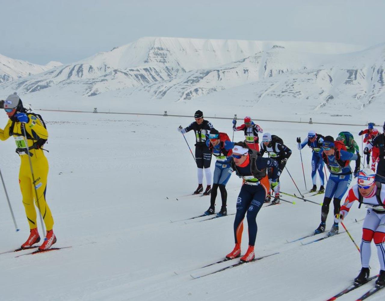 Svalbard skimaraton, maxpulse, svalbard, skirenn, ski,