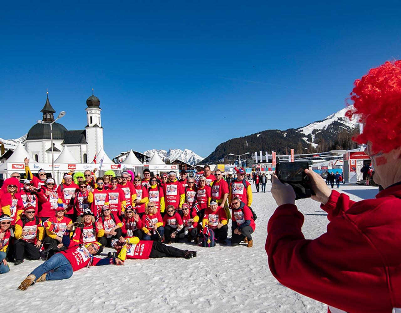 Ski-VM, seefeld, guttegjeng