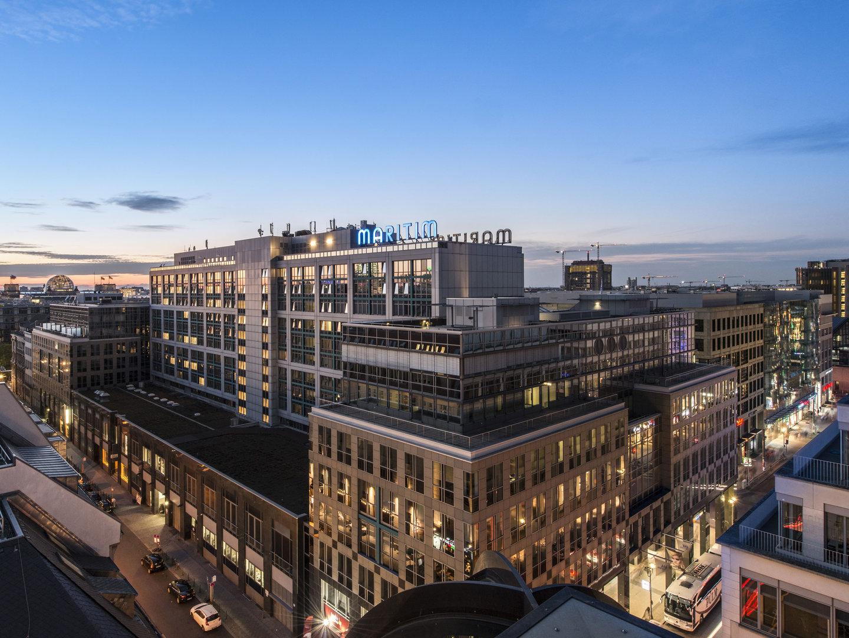 Berlin Maraton, proArte Maritime Hotel, Berlin, sentrum