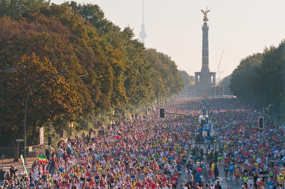 Berlin Maraton, start,