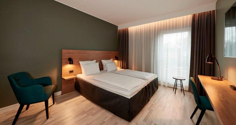Østerbro hotell, seng