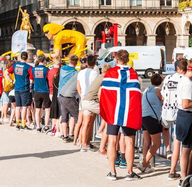 Tour de France publikum
