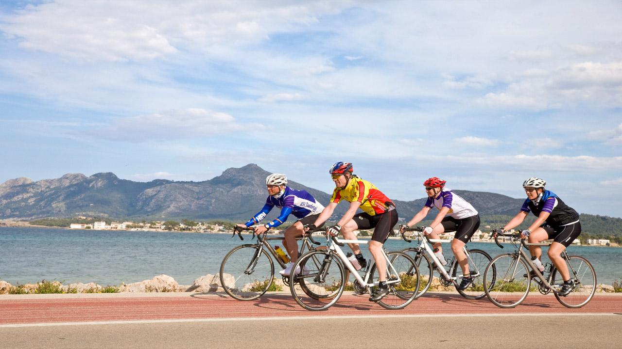 Midnattsolrittet, sykkelcamp på mallorca, sykkeltur, sykkelritt, varmen, kom i form, maxpulse, expert reiser, reise, sesongstart, gruppe