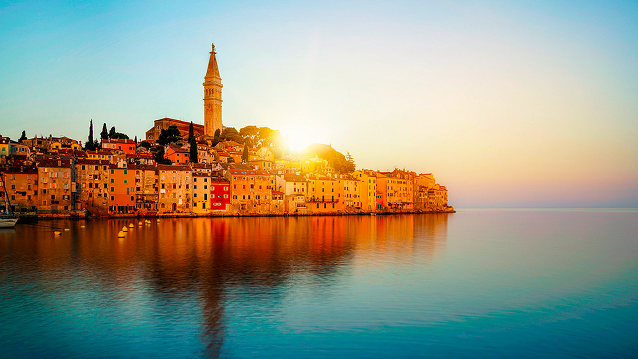 Kroatia, treningsreise, rovinj