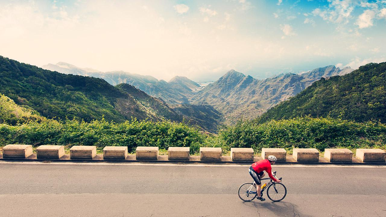 Treningsglede, Tenerife, treningsreise, sykkel